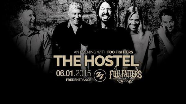 Fuu Faiters (tribute Foo Fighters) all'Hostel martedì 6 gennaio