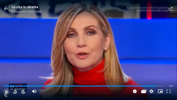"""Mascherine per tutti: la lezione di Miglianico a """"La vita in diretta"""" [VIDEO]"""