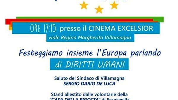 Festa dell'Europa parlando di diritti il 7 maggio a Villamagna