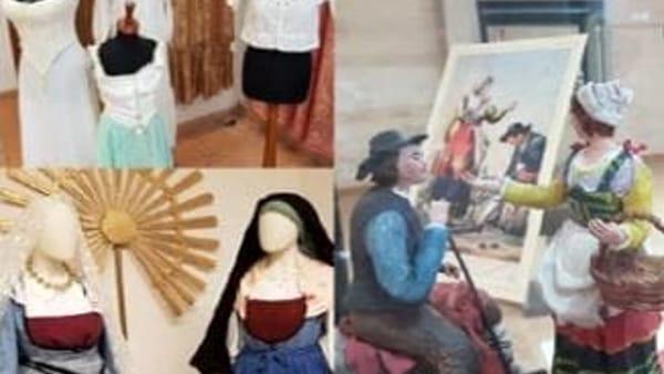 Mostra di abiti e tessuti abruzzesi a palazzo Valignani