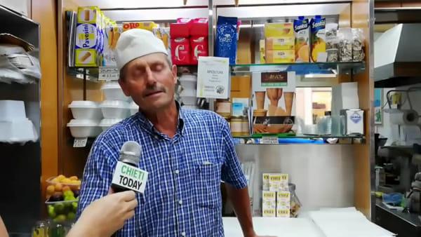"""La Glacia, quando sor Paolo dal Veneto aprì la prima gelateria a Chieti: """"Rimase impressionato dal passeggio"""" - VIDEO"""