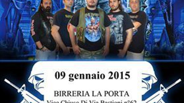 The Lords Of Iron (tribute Iron Maiden) a Lanciano il 9 gennaio