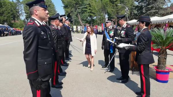 """I carabinieri festeggiano 205 anni, il comandante Cerrina: """"Attenzione altissima ma non ci sono fenomeni preoccupanti"""""""