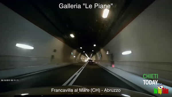 Video I Auto contromano nella galleria Le Piane dopo l'incidente mortale di pochi giorni fa