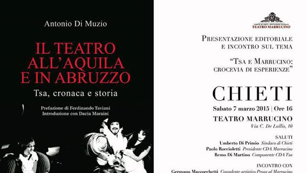 """Antonio Di Muzio presenta """"Il teatro all'Aquila e in Abruzzo"""""""