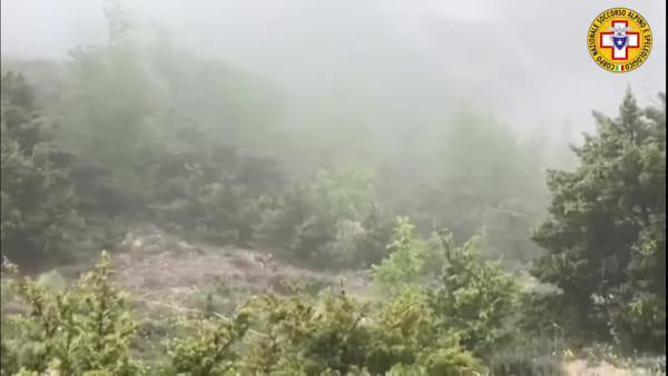 Alpinista ferito nella forra: maxi operazione di recupero sulla Majella VIDEO