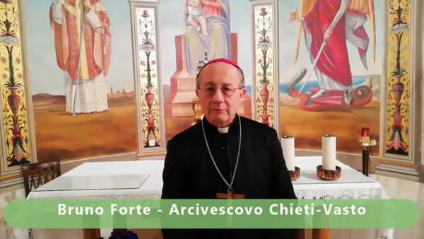 "Venerdì Santo a Chieti, l'arcivescovo Forte: ""Pregate da casa"" - VIDEO"