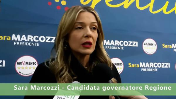 """Video  Elezioni regionali, Marcozzi: """"Basta sprechi, più servizi per i cittadini"""""""