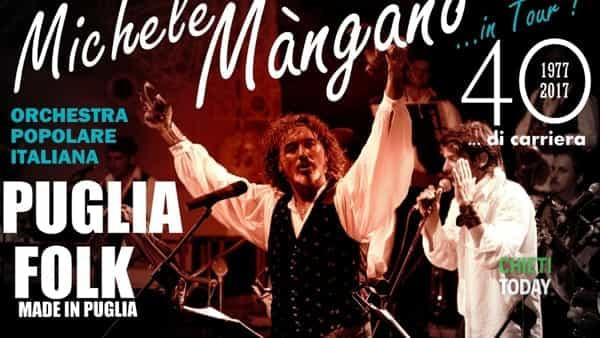 Michele Mangano alla festa patronale di San Buono