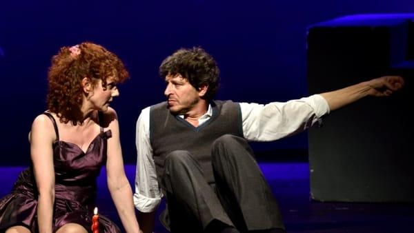 """""""La matematica dell'amore"""", con Edy Angelillo e Michele La Ginestra al teatro di Gessopalena"""