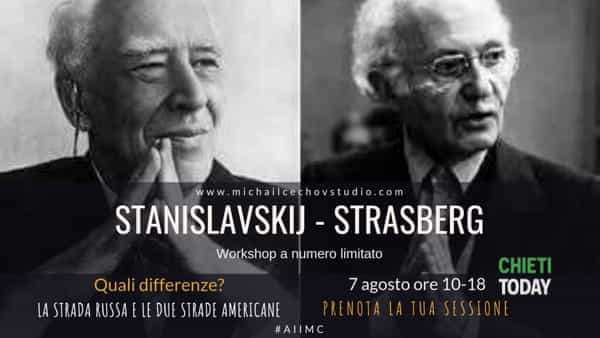 Stanislavskij-Strasberg: acting workshop a Chieti