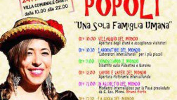 Festa dei Popoli alla Villa Comunale il 24 maggio