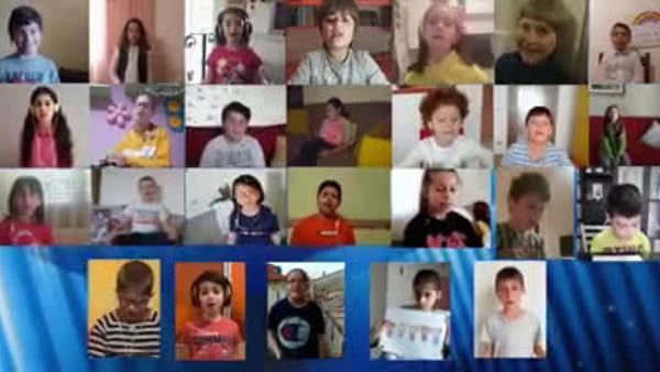 """A Orsogna nasce il """"piccolo coro a distanza""""  - VIDEO"""
