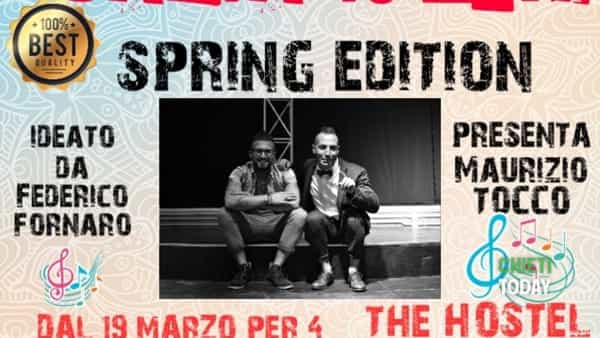 Canta tu 2019 spring edition al The Hostel di Chieti Scalo