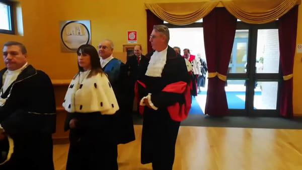 """Inaugura l'anno accademico alla d'Annunzio, per Caputi serve """"maggiore sinergia con il mondo del lavoro"""" [Video]"""