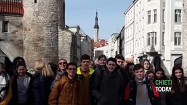 alunne e docenti di ripa e torrevecchia in estonia con l'erasmus plus-2