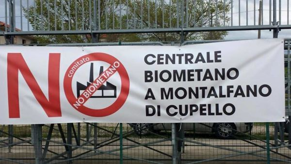 Foto: No biometano Montalfano di Cupello