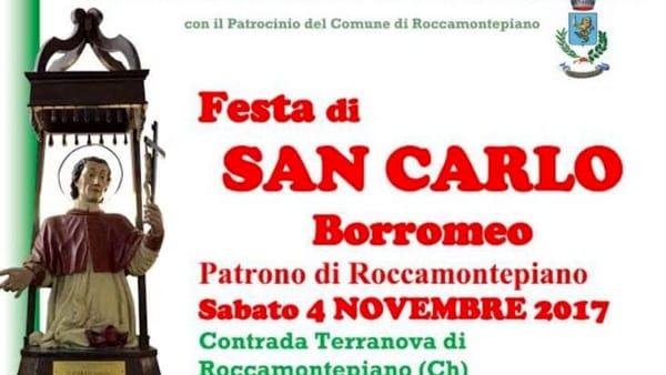 Roccamontepiano festeggia il suo Patrono: San Carlo Borromeo