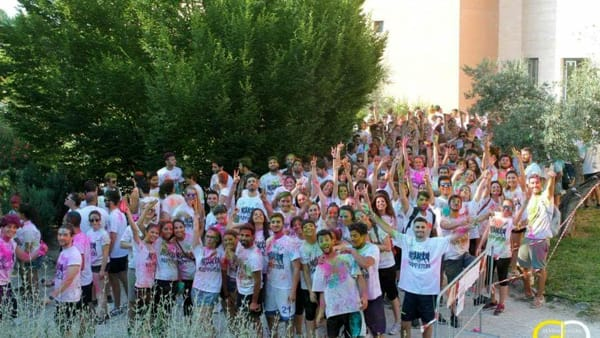 Happy run 2018, la corsa colorata senza vincitori al campus universitario