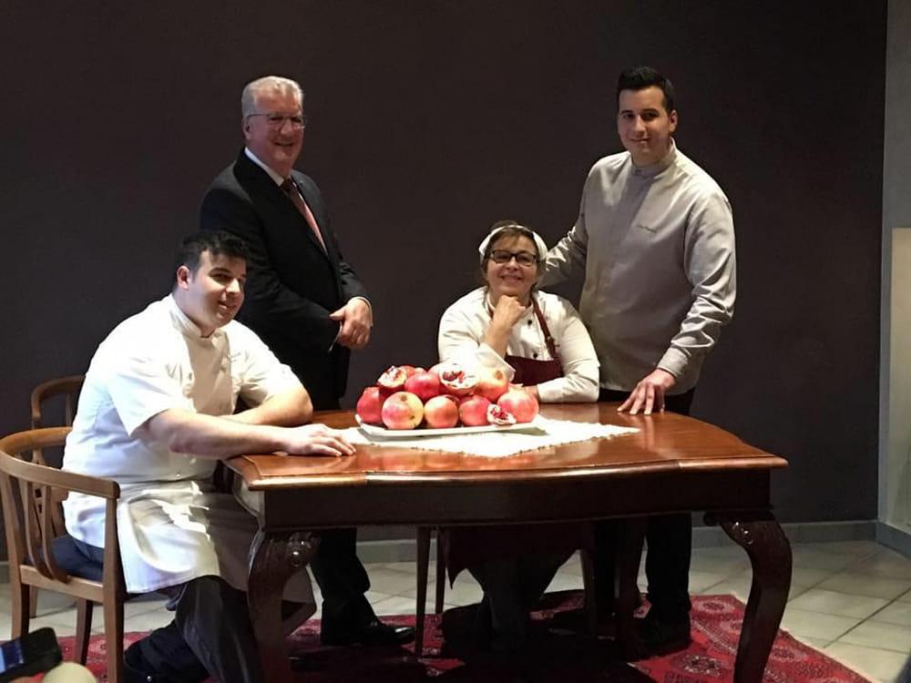 La famiglia Tinari, del ristorante Villa Maiella