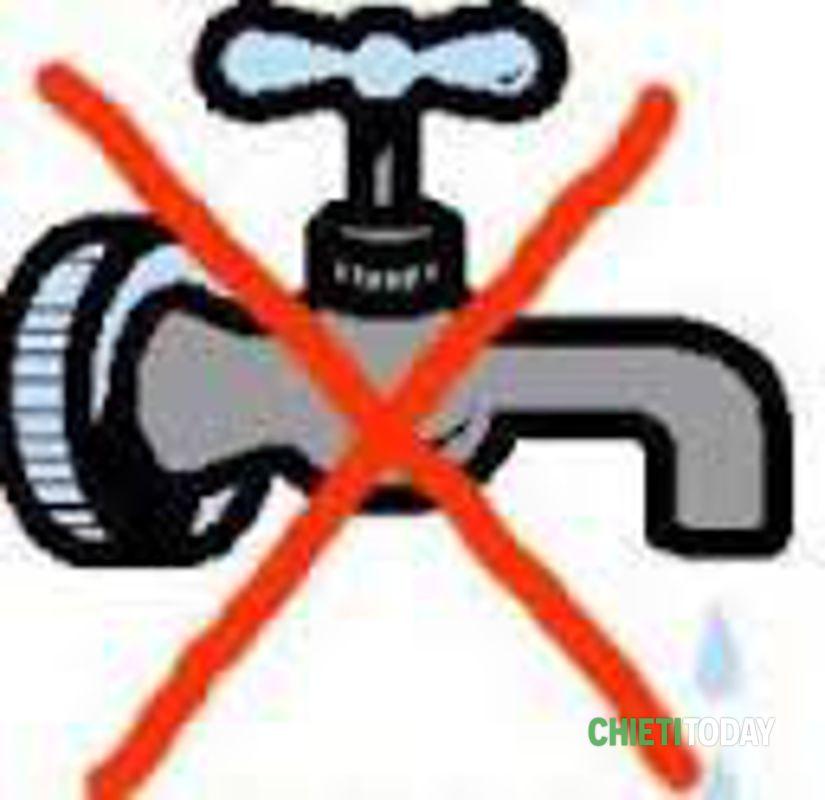 Riparazione urgente: sospensione idrica a Lanciano