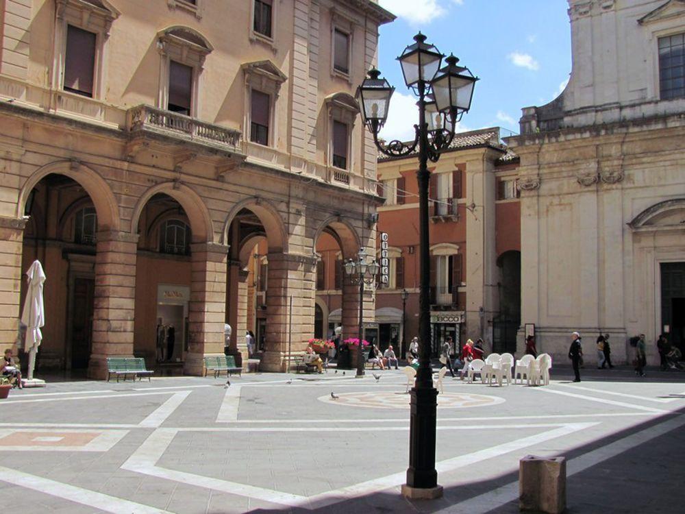 Piazza G.B. Vico, dove si terrà lo spettacolo