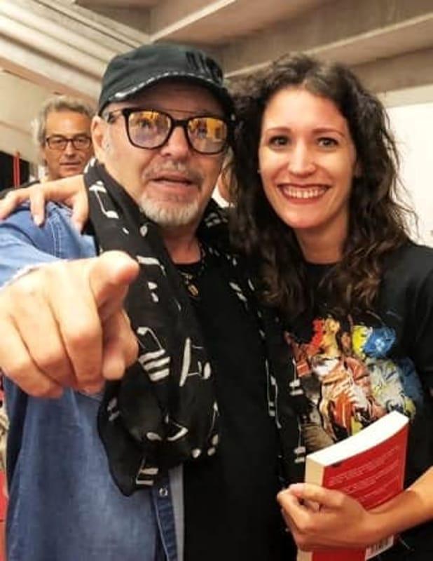 Vittoria Chiarenza e Vasco Rossi