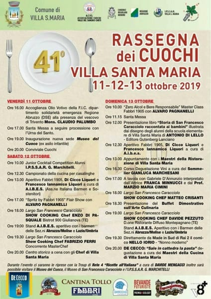 Programma cuochi Villa Santa Maria-2